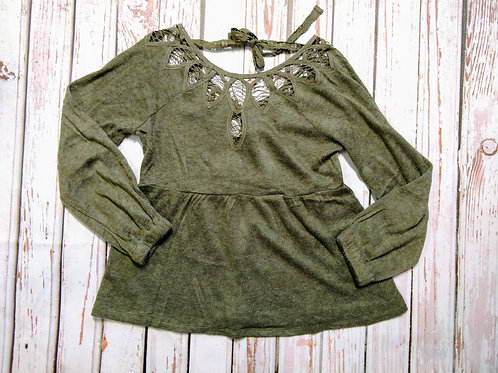 Crochet and Lace Top