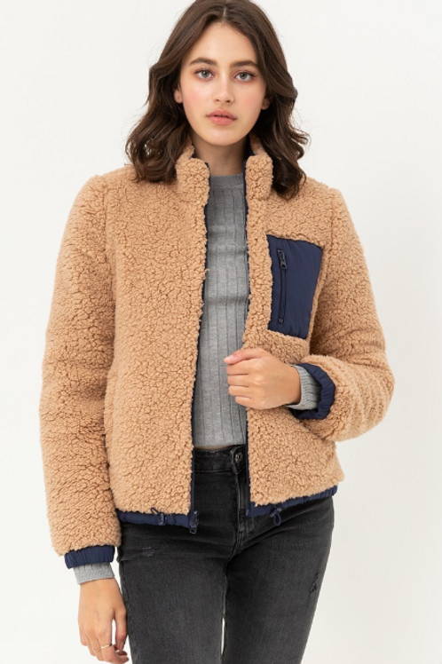 Reversible Super Soft Sherpa Jacket