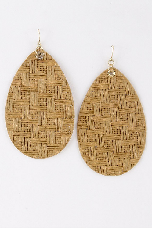 Summer teardrop Earrings