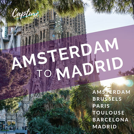 AMSTERDAM TO MADRID
