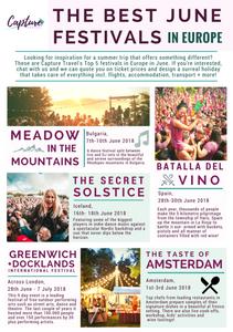 June Festivals in Europe