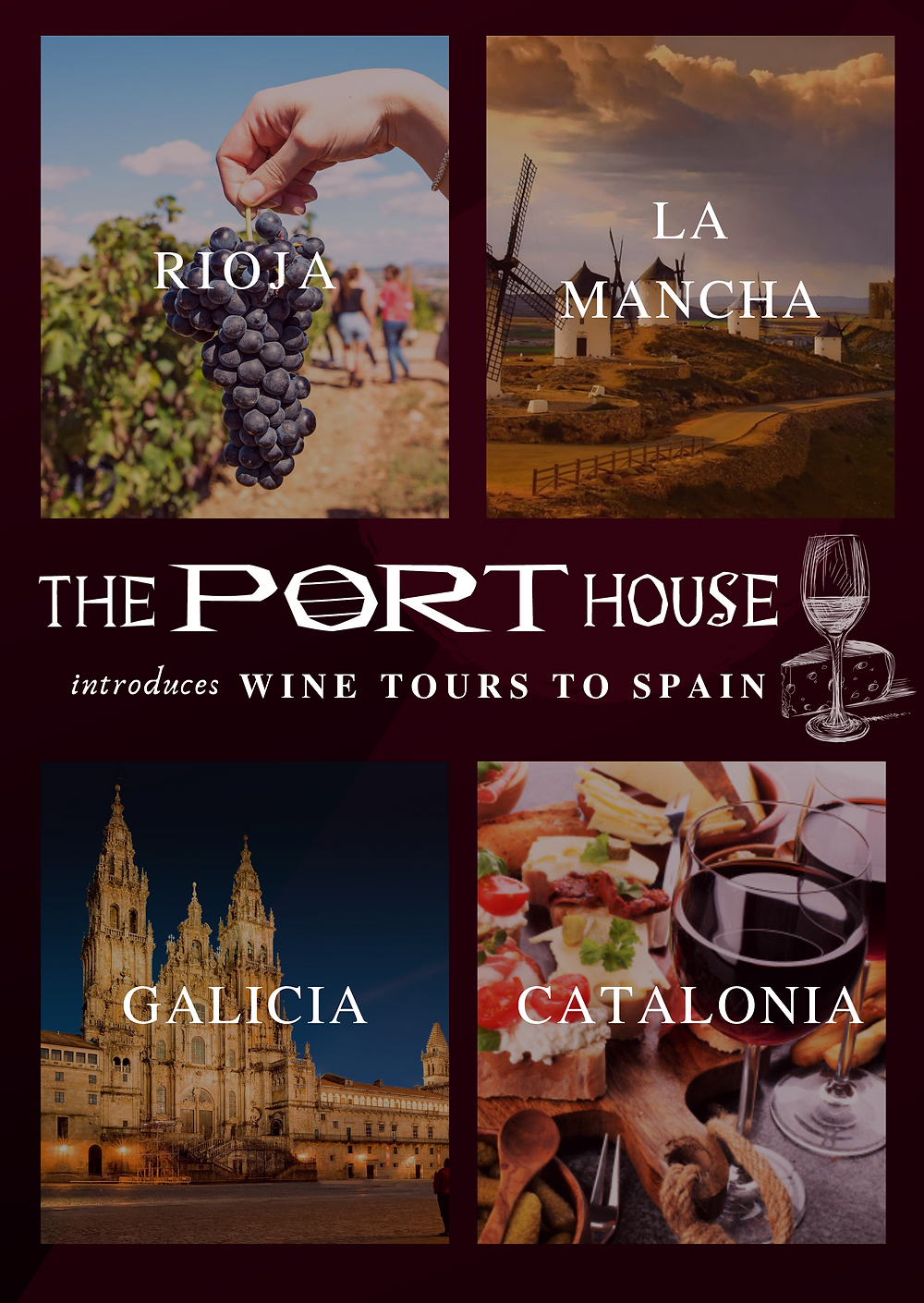 The Port House Wine Tours to Spain