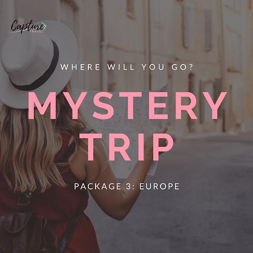 Mystery Trip: Europe