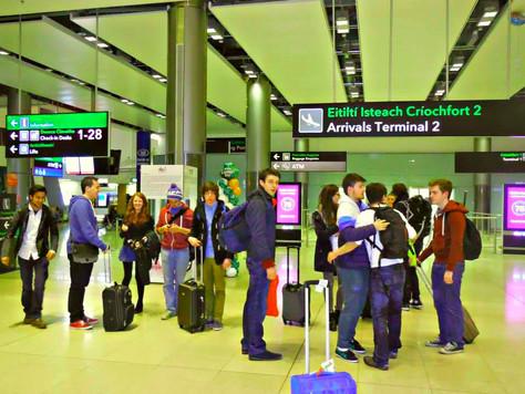 Waiting at the airport