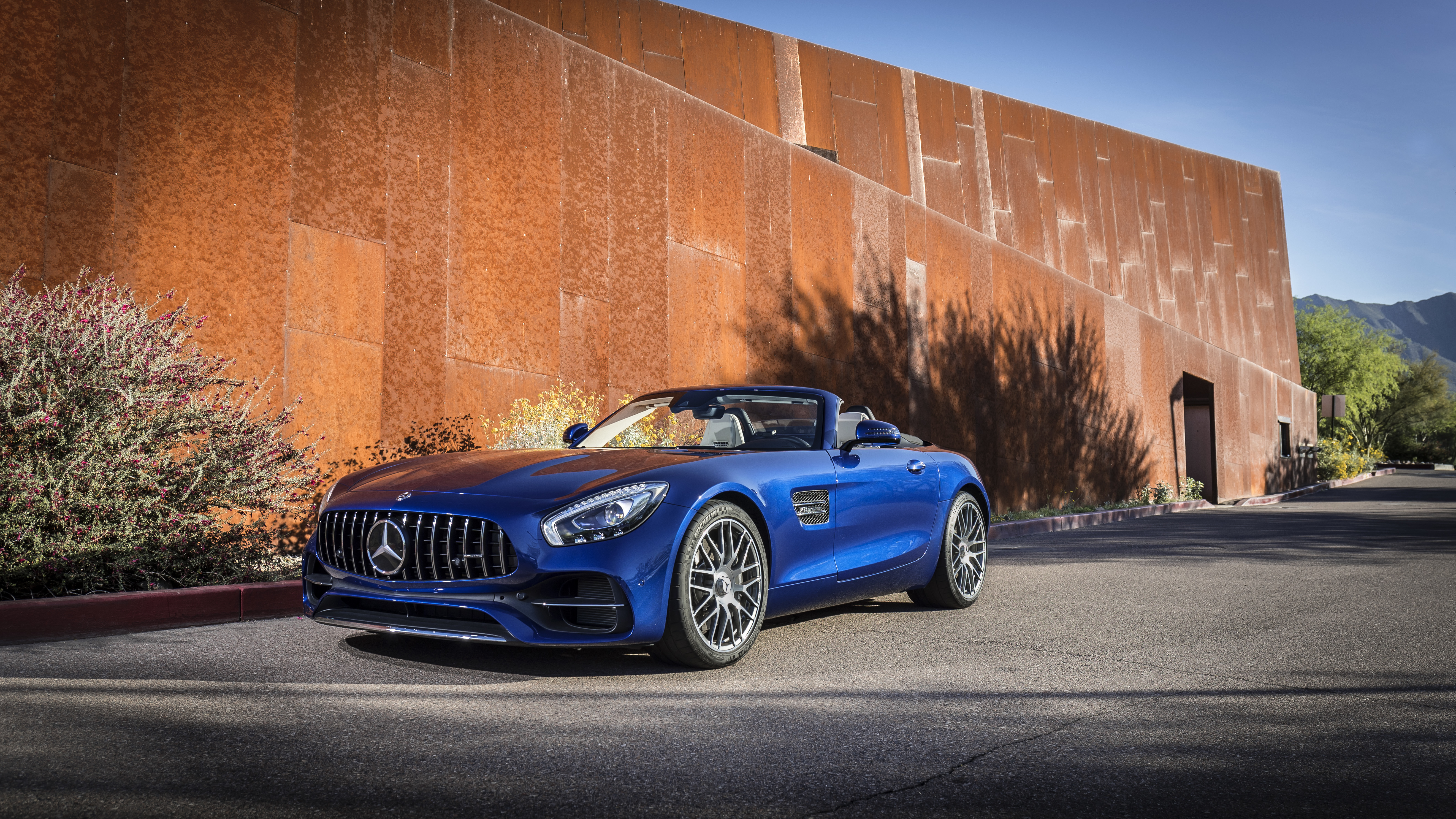The AMG GT C Roadster