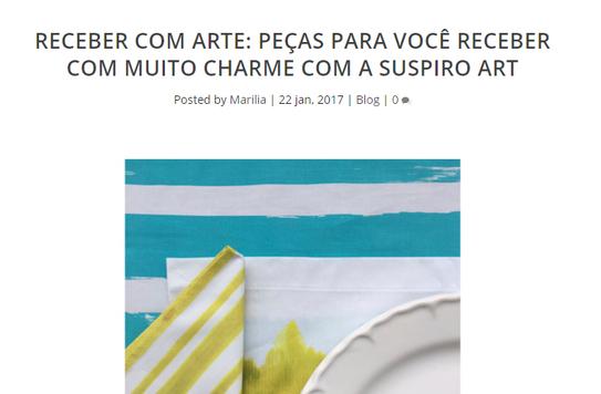 SUSPIRO art - Conexão Decor