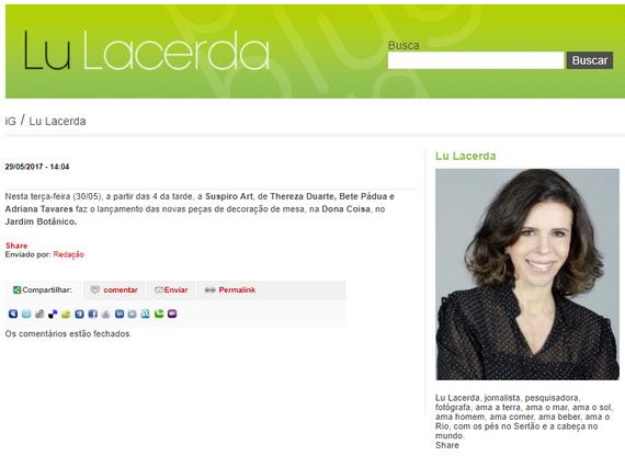 SUSPIRO art - Lu Lacerda