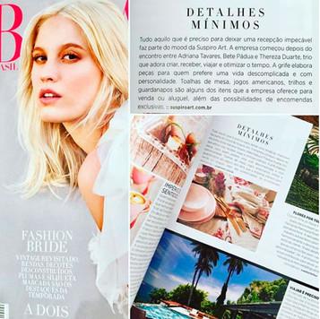 SUSPIRO art - Harper's Bazaar