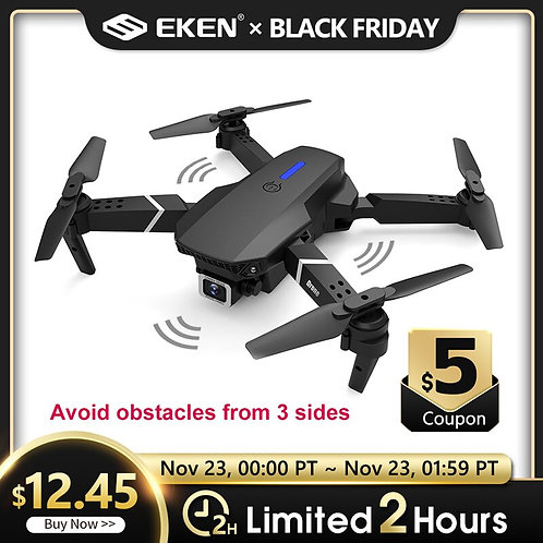 E525 PRO 4K Mini Drone Profissional Obstacle Avoidance Dual Camera