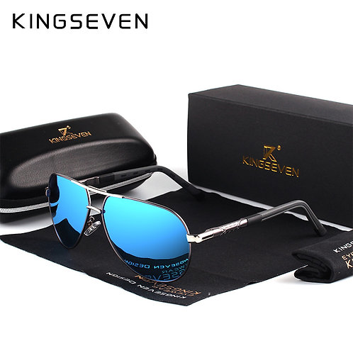 Vintage Aluminum Polarized Sunglasses For Men/Wome