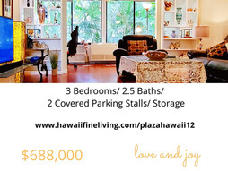 Plaza Hawaii Kai Unit 12 Advantages