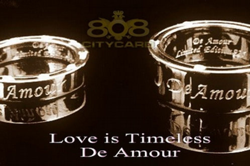 De Amour Paired Rings