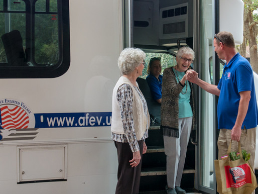 Scheduled Transportation Ensures Independence for Residents