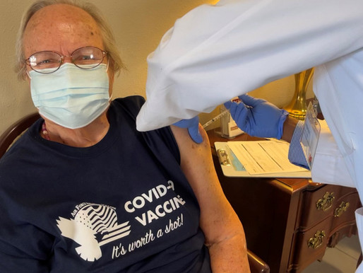 """Get Your """"COVID-19 VACCINE It's worth a shot!"""" T-Shirt"""