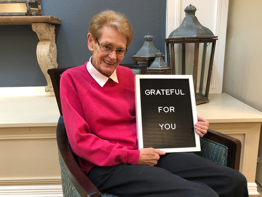 Your Gift Matters – Thank You from Helga
