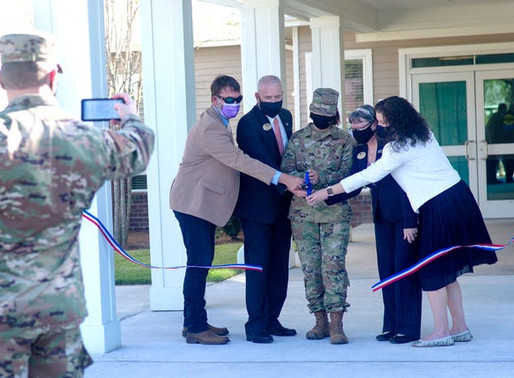Air Force Enlisted Village cuts ribbon at new community