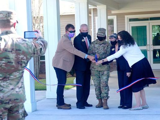 Air Force Enlisted Village cuts ribbon at new community