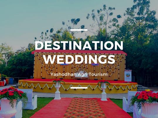 Destination Weddings At Yashodhan Agri Tourism