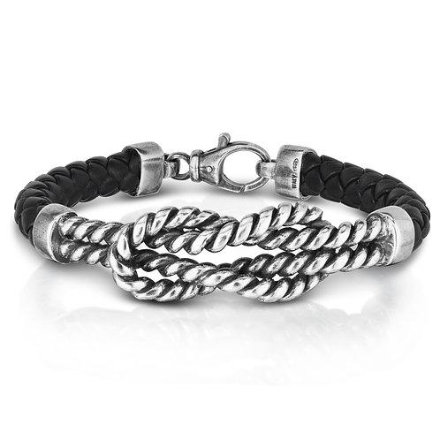 Large Cable Knot Bracelet