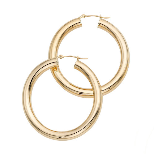 Large Classic Round Hoops