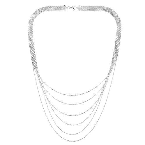 Diamond cut necklace
