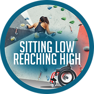 Sitting Low Reaching High logo