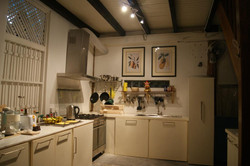 The kitchen at the heritage house.