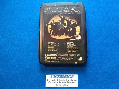 """Paul McCartney and Wings """"Band On The Run"""" 8 Track Tape"""