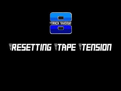 8 Track Tape Repair Video Link