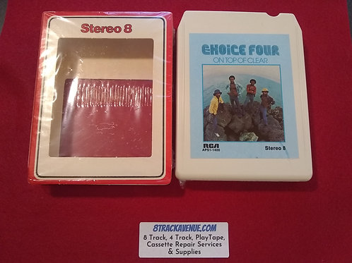 "The Choice Of Four ""On Top Of Clear"" 8 Track Tape"