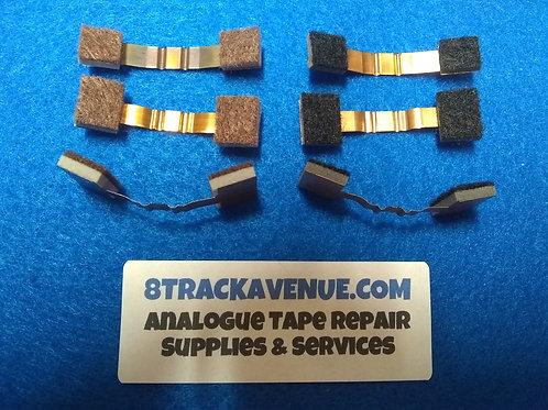 8 Track Felt/Foam Replacement Tabs