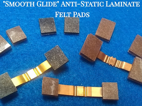 """""""Smooth Glide"""" Anti-Static 8 Track Felt Replacement Pads"""