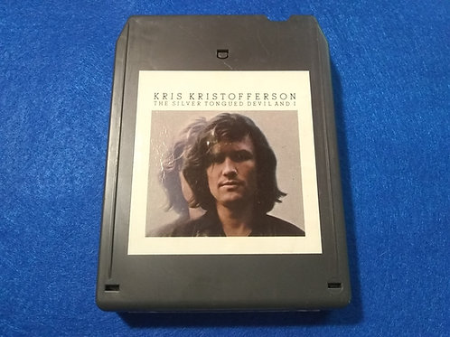 "Kris Kristofferson ""Silver Tongued Devil"" 8 Track Tape"