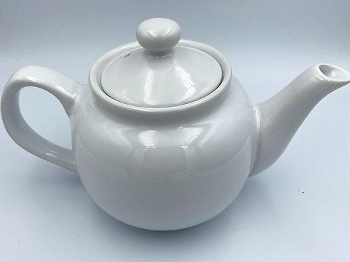Sark Teapot 2 Cup White
