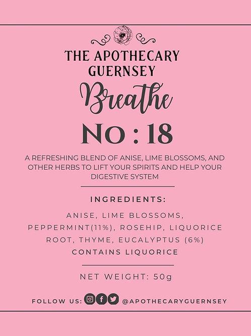 NO: 18 Breathe 50g Bag