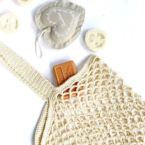 Handmade Crochet String Bag
