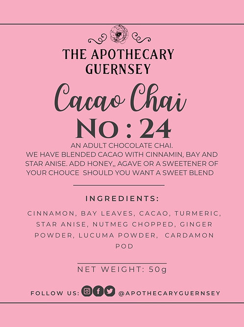 LIMITED EDITION Cacao Chai 50g Bag