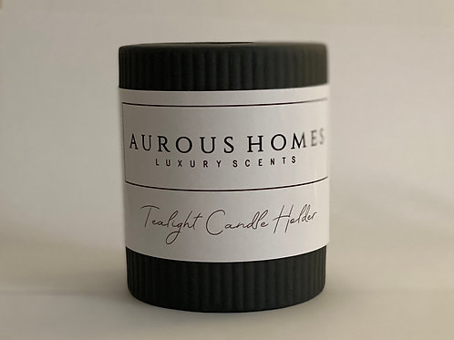 Black Tealight Candle Holder