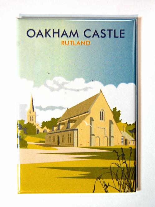 Oakham castle magnet