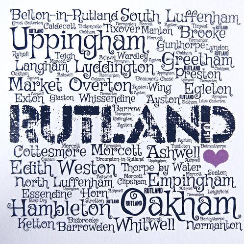 Rutland Places Card