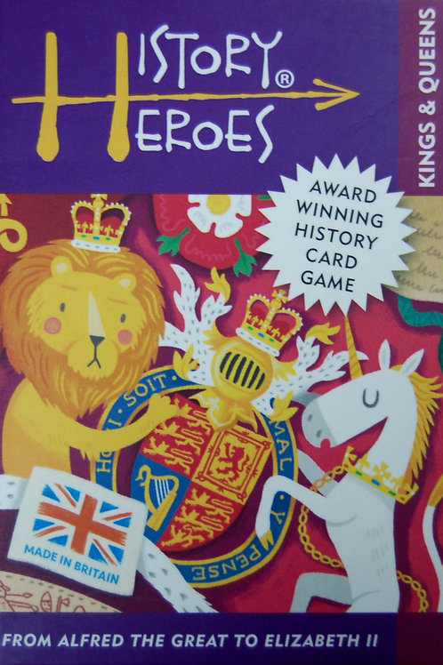 History Heroes Games Kings and Queens of Britain