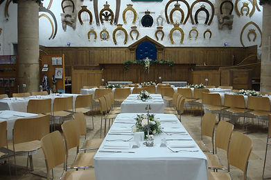 Reception tables facing Judge's chair.JP