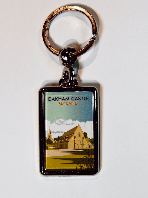 Oakham Castle metal key ring