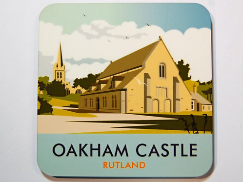 Oakham Castle MDF coaster