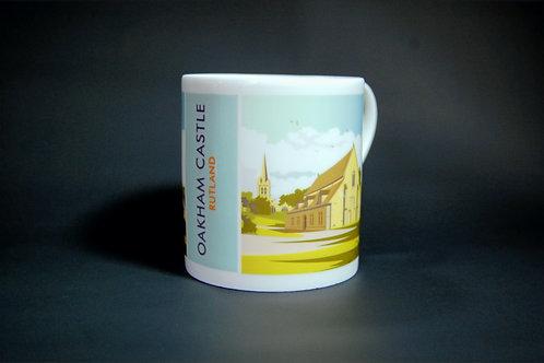 Oakham Castle bone china mug
