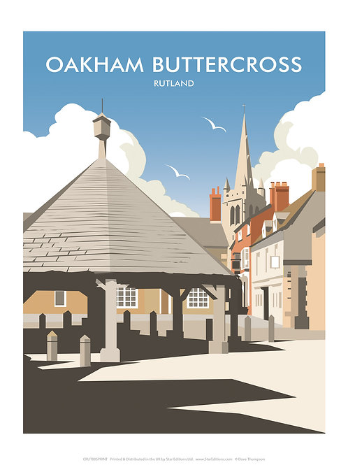 Oakham buttercross Tote bag