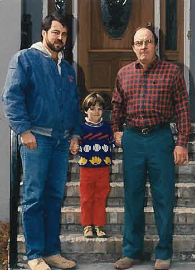 Bill, Brett, and Whit Winford 1992