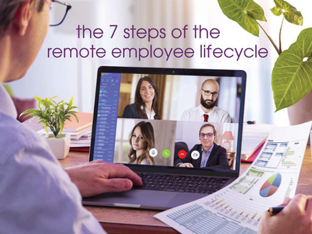 Feature: The 7 Steps of the Remote Employee Lifecycle