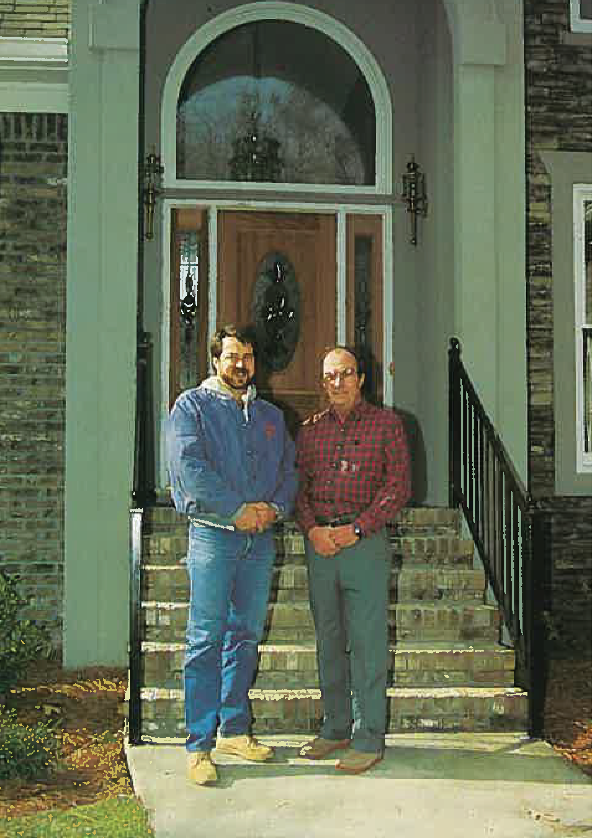 Brett and Bill Winford 1992