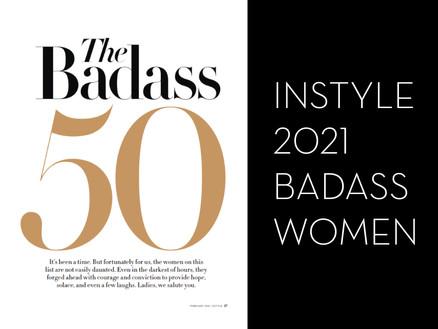 InStyle: 2021 Badass Women